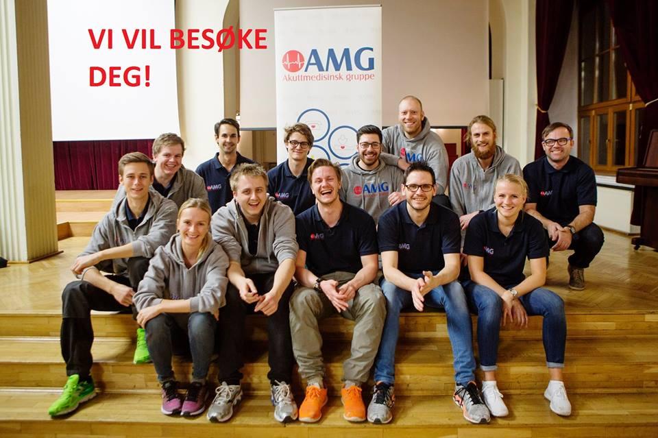 Vil du ha besøk av AMG til våren?